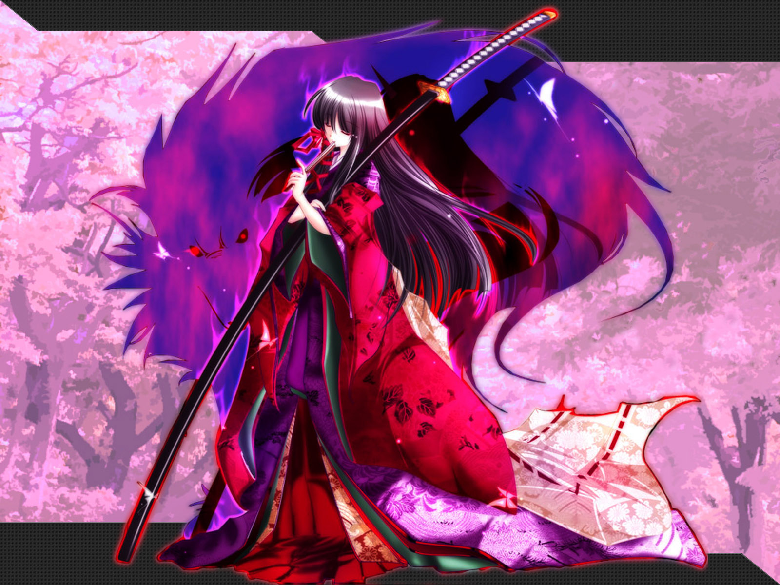 japanese_clothes katana sword tagme weapon