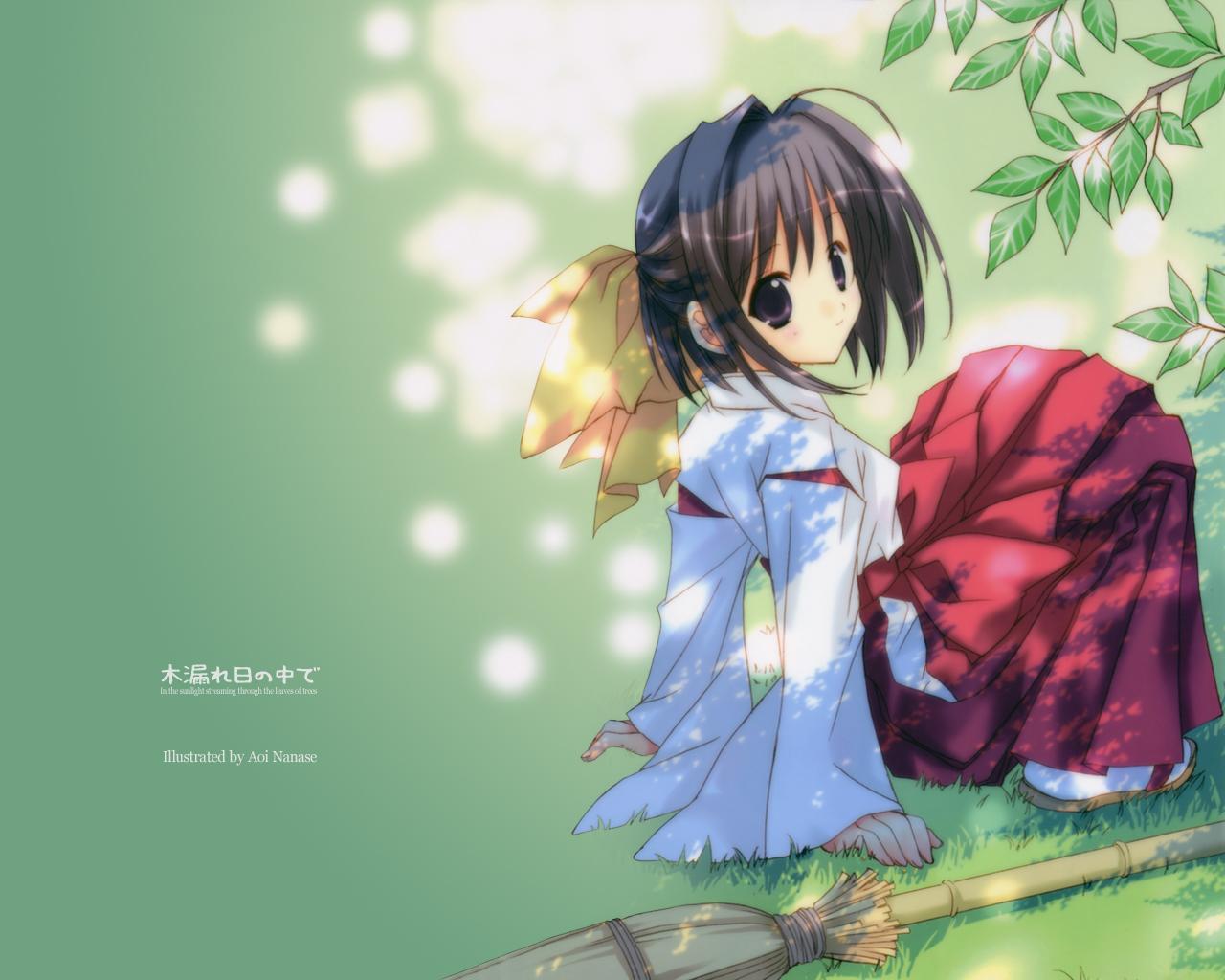 japanese_clothes miko nanase_aoi
