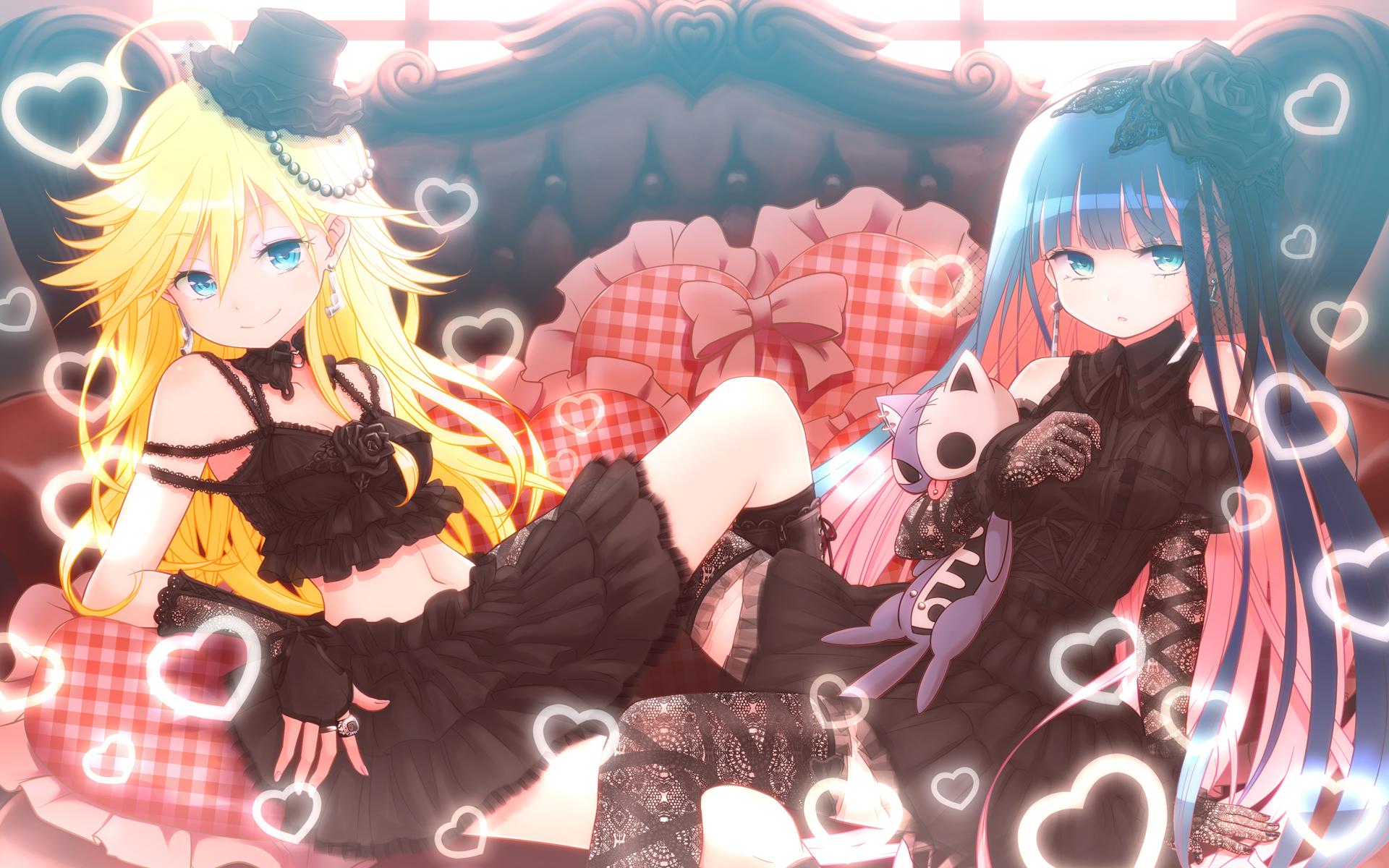 kuinji_51go panty_&_stocking_with_garterbelt panty_(character) stocking_(character)
