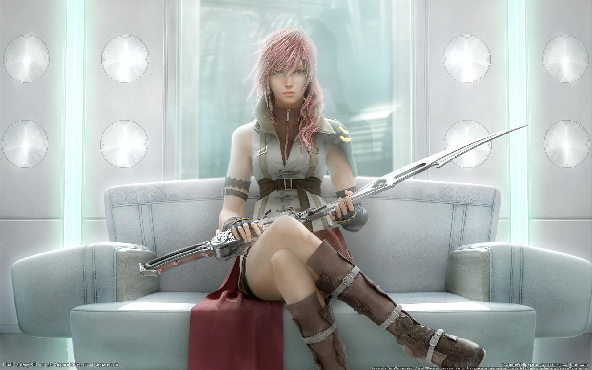 Final Fantasy Final Fantasy Xiii Lightning Farron Konachan Com Konachan Com Anime Wallpapers