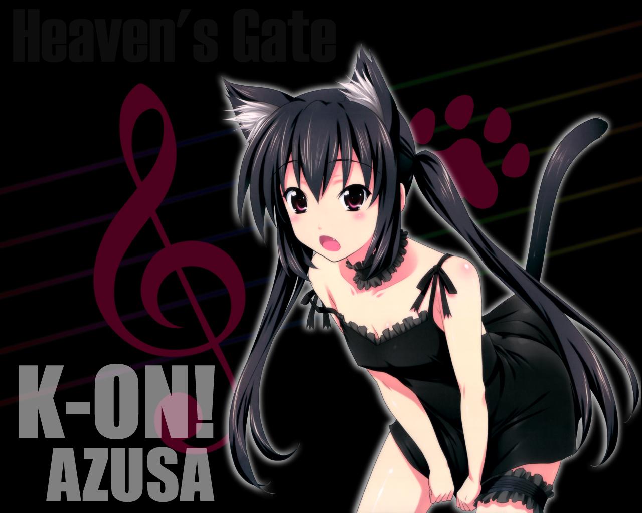animal_ears catgirl k-on! nakano_azusa tail