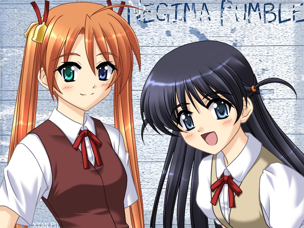 kagurazaka_asuna mahou_sensei_negima school_rumble tsukamoto_tenma