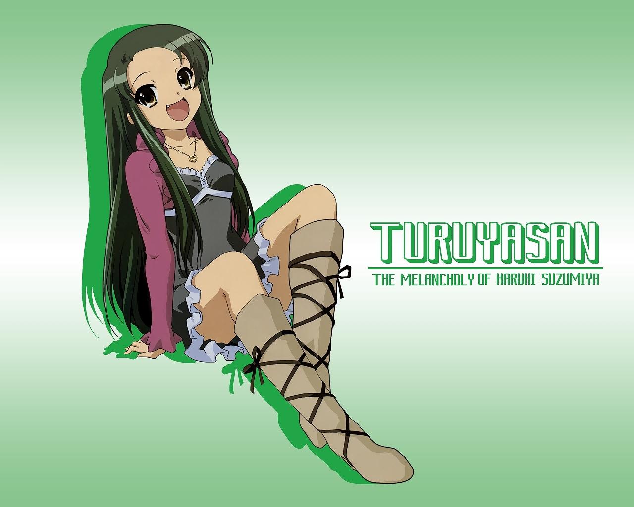 duplicate green suzumiya_haruhi_no_yuutsu tsuruya