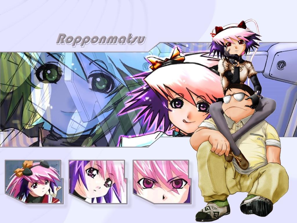 animal_ears excel_saga glasses rikdo_koshi ropponmatsu2 sumiyoshi_daimaru
