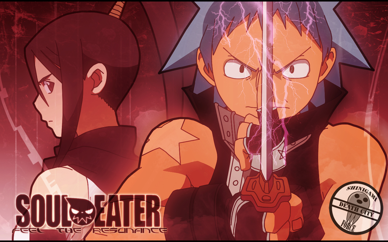 Black Star Nakatsukasa Tsubaki Soul Eater Konachan Com Konachan Com Anime Wallpapers