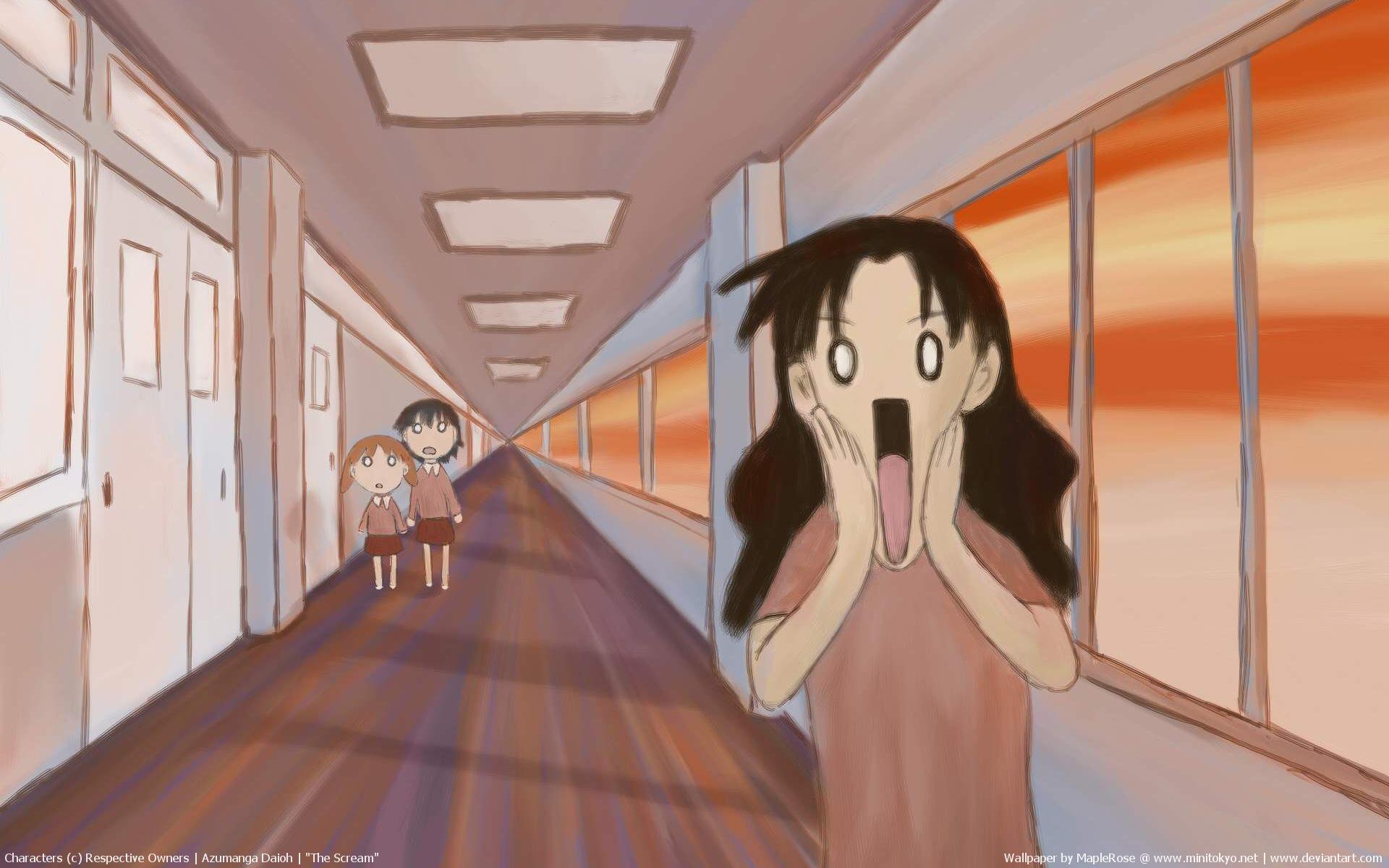 aida_kaori azumanga_daioh mihama_chiyo parody tanizaki_yukari