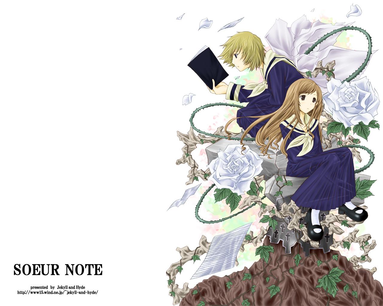 death_note jekyll_and_hyde maria-sama_ga_miteru parody satou_sei toudou_shimako