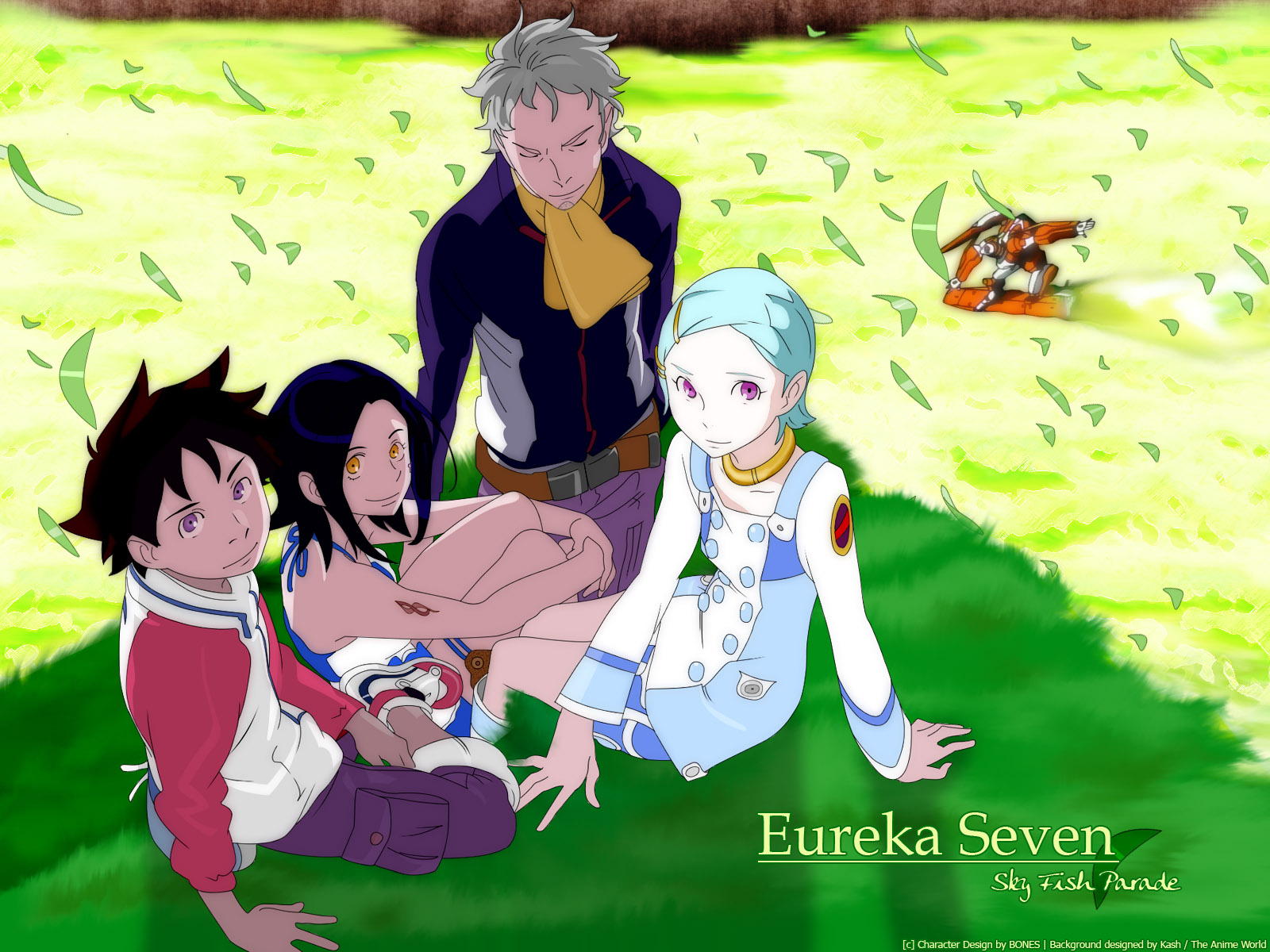 eureka eureka_seven holland_novak renton_thurston talho_yuuki