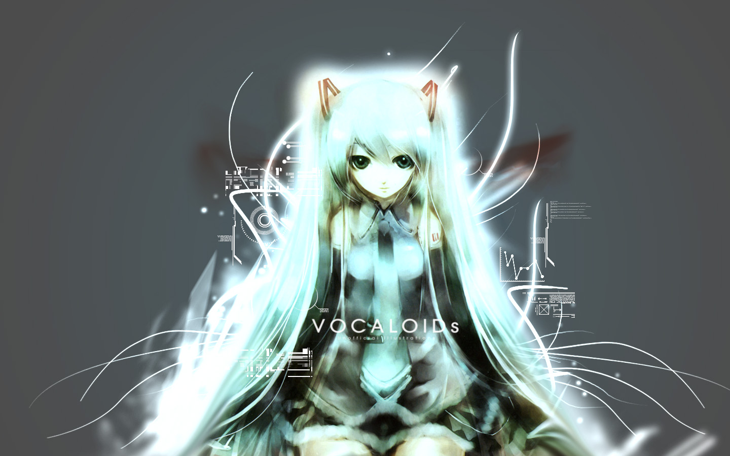 blue_hair hatsune_miku long_hair twintails vocaloid
