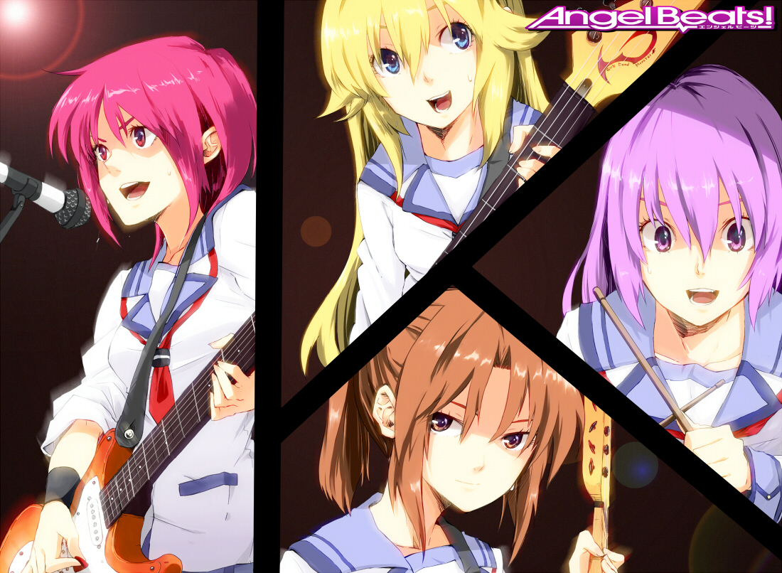angel_beats! hisako irie_miyuki iwasawa_masami sekine_shiori