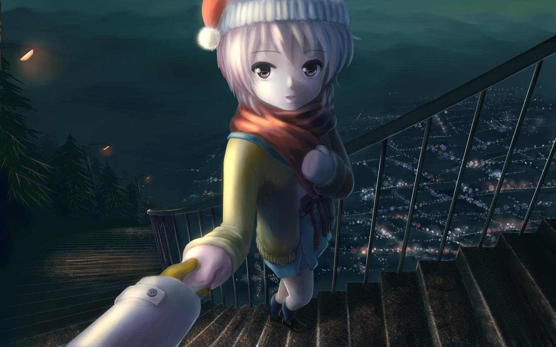 christmas nagato_yuki suzumiya_haruhi_no_yuutsu