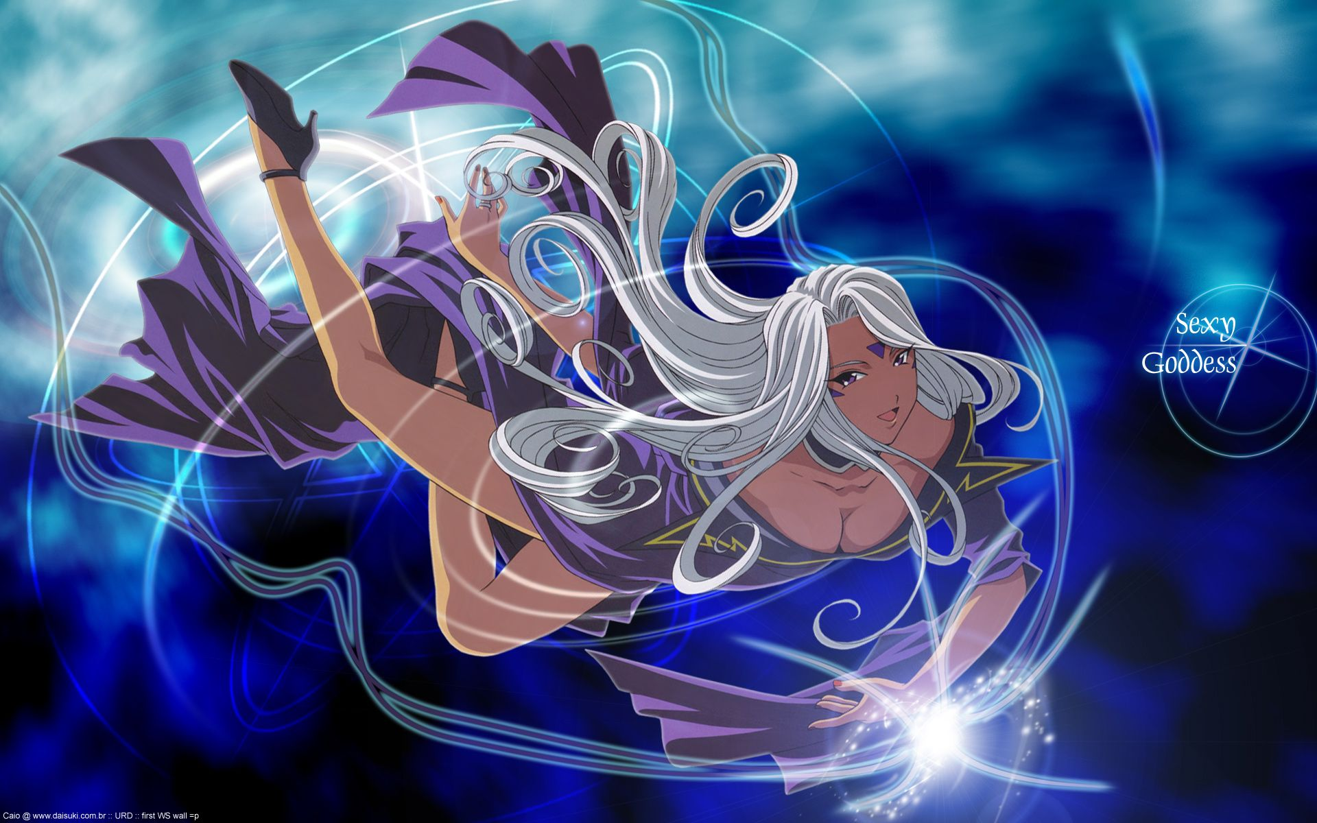 aa_megami-sama purple_eyes urd white_hair