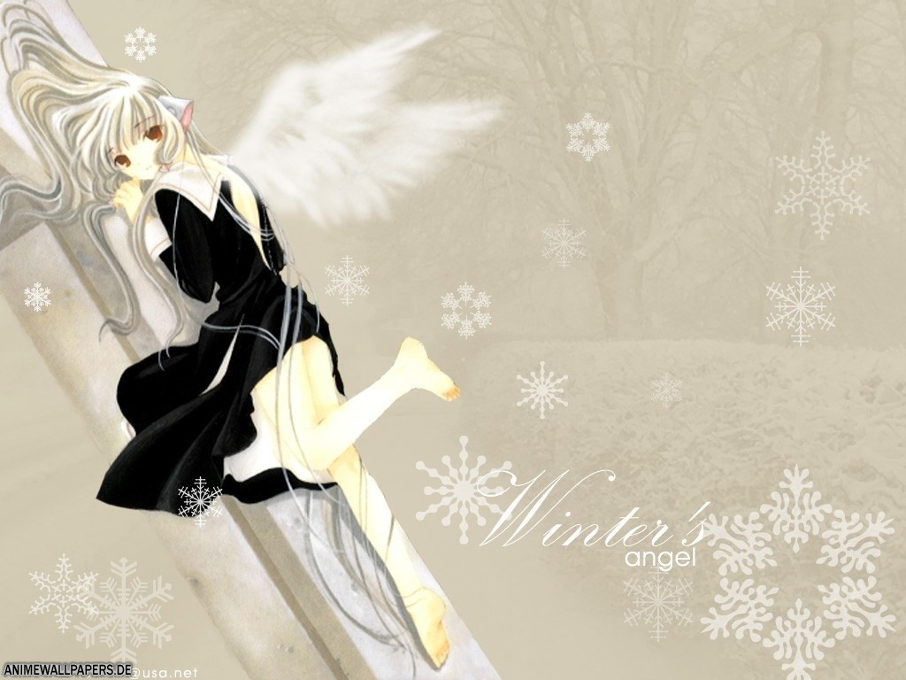 chii chobits clamp snow wings