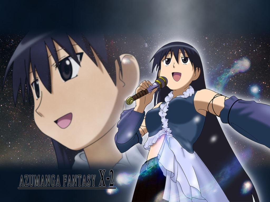 azumanga_daioh cosplay final_fantasy final_fantasy_x final_fantasy_x-2 parody sakaki