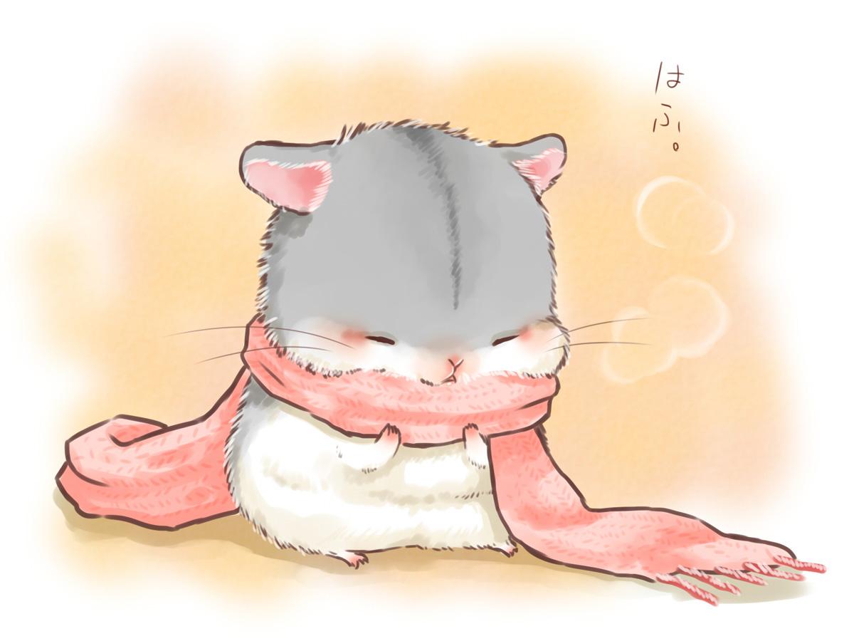 animal blush nobody original scarf yutaka_kana
