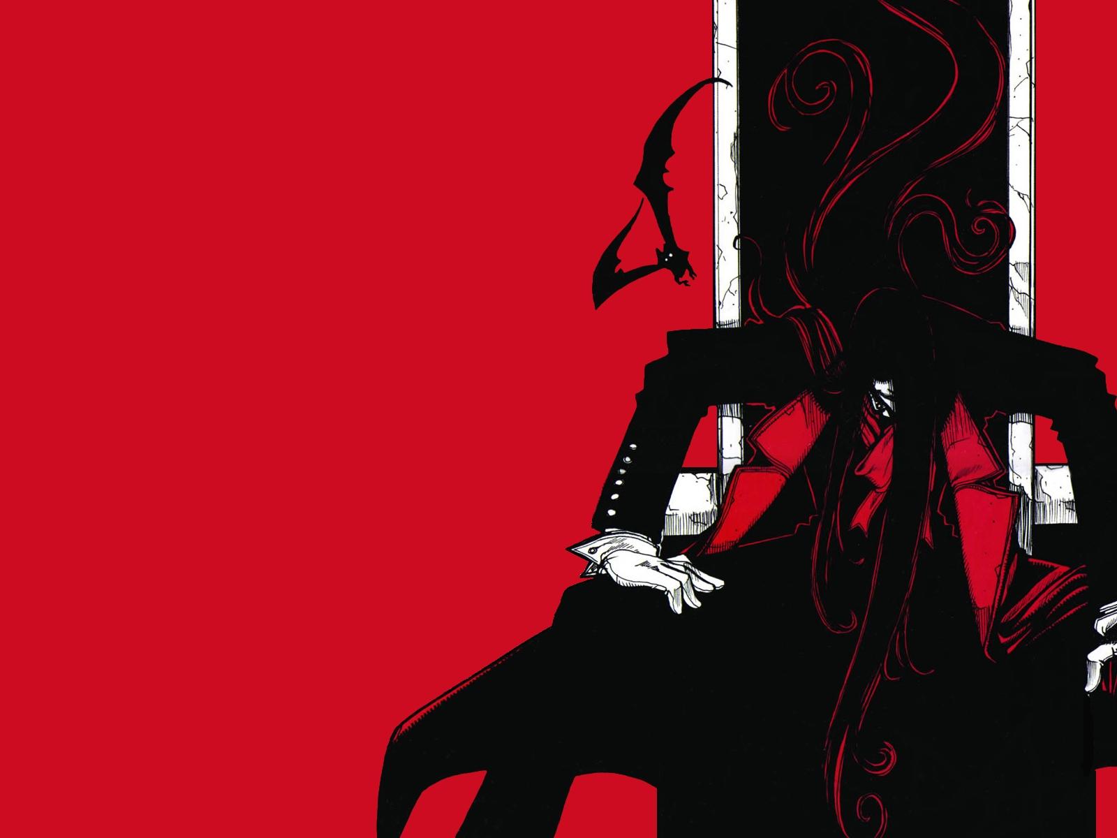 alucard hellsing red