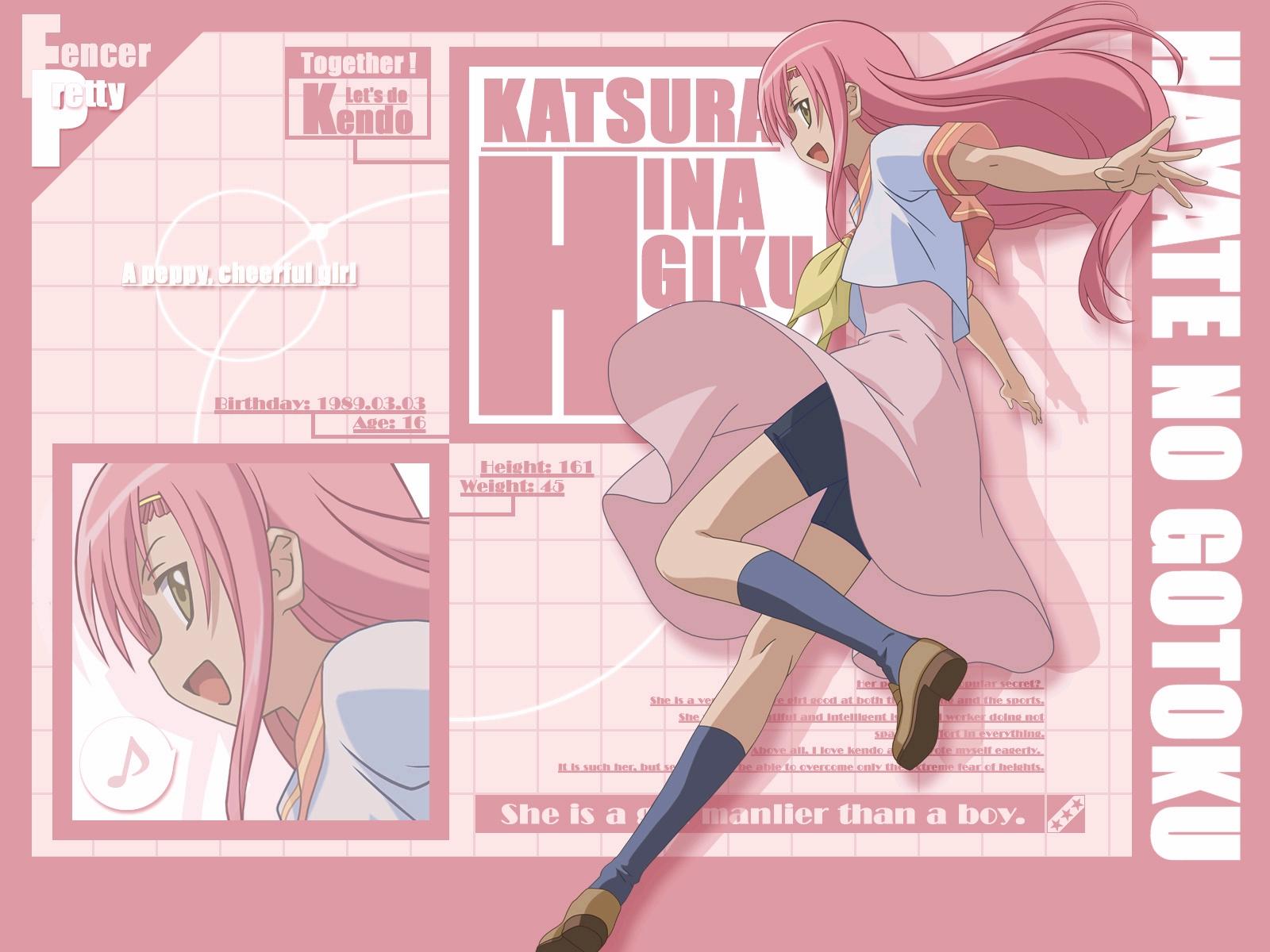 hayate_no_gotoku katsura_hinagiku long_hair pink_hair