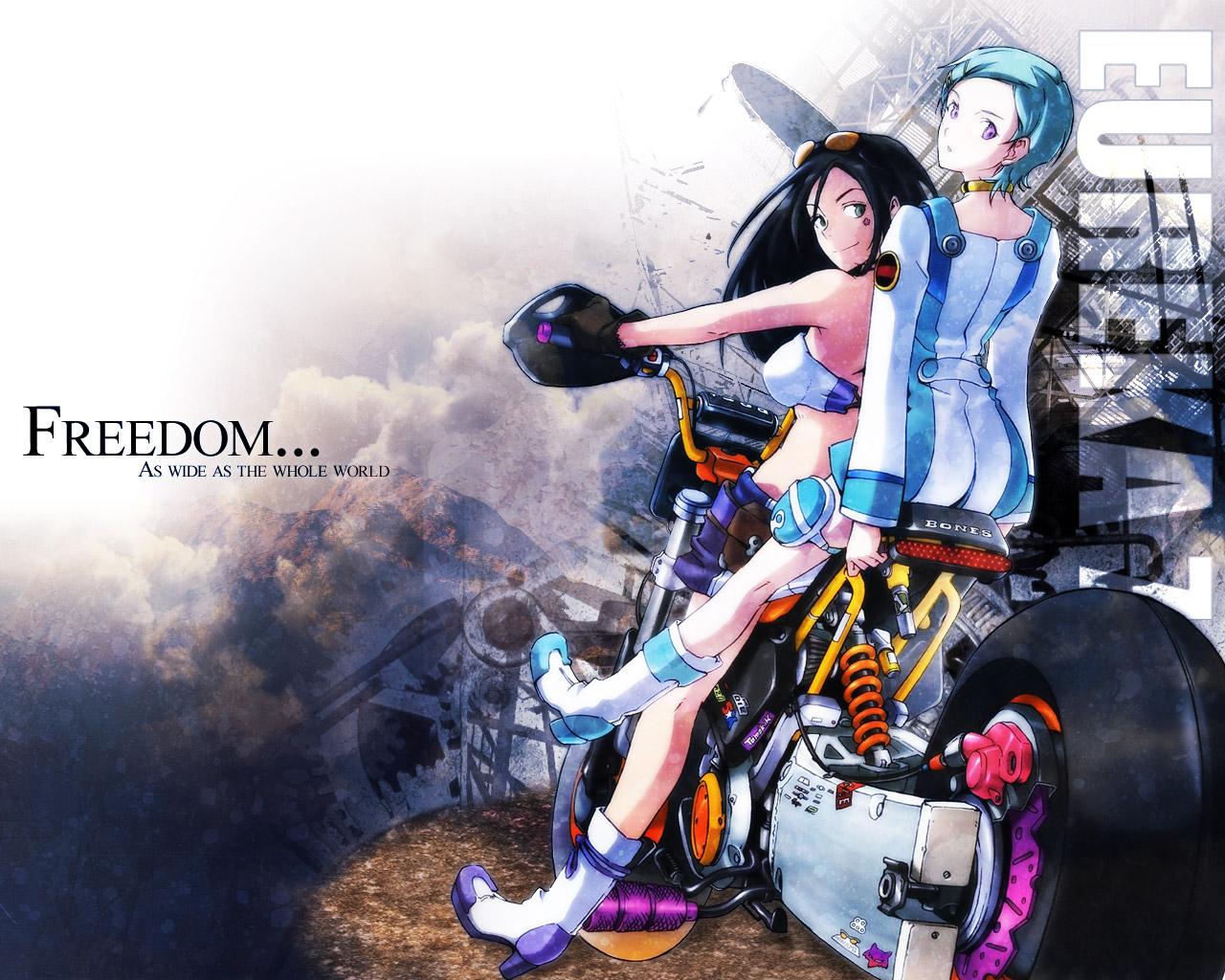 eureka eureka_seven motorcycle talho_yuuki