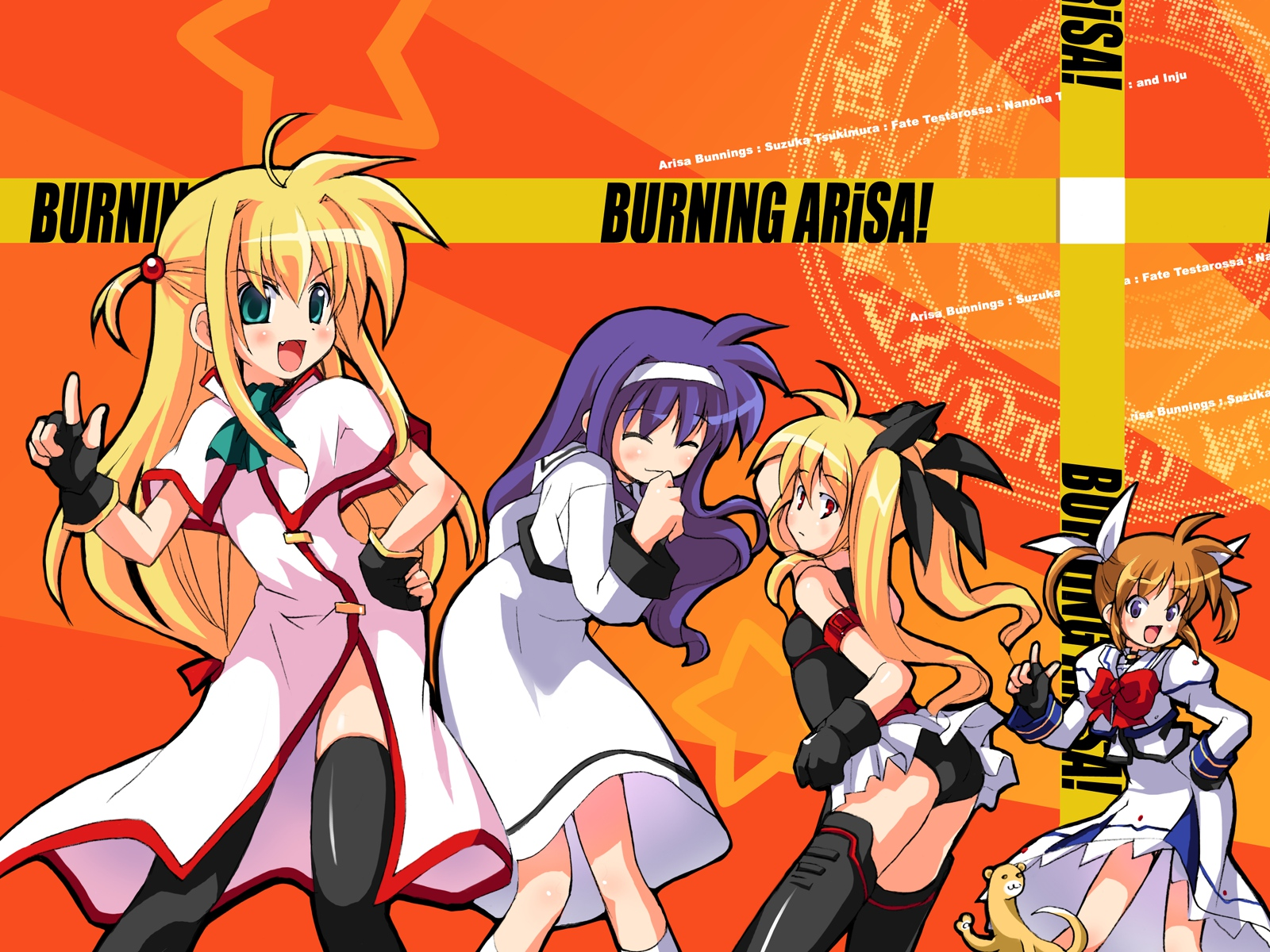 galaxy_angel galaxy_angel_rune mahou_shoujo_lyrical_nanoha parody