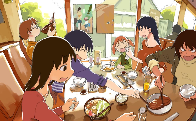 azumanga_daioh bravo223 kagura mihama_chiyo mizuhara_koyomi sakaki tagme_(character)