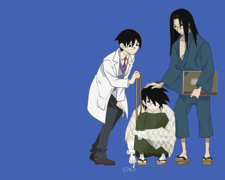 blue itoshiki_kei itoshiki_mikoto itoshiki_nozomu sayonara_zetsubou_sensei
