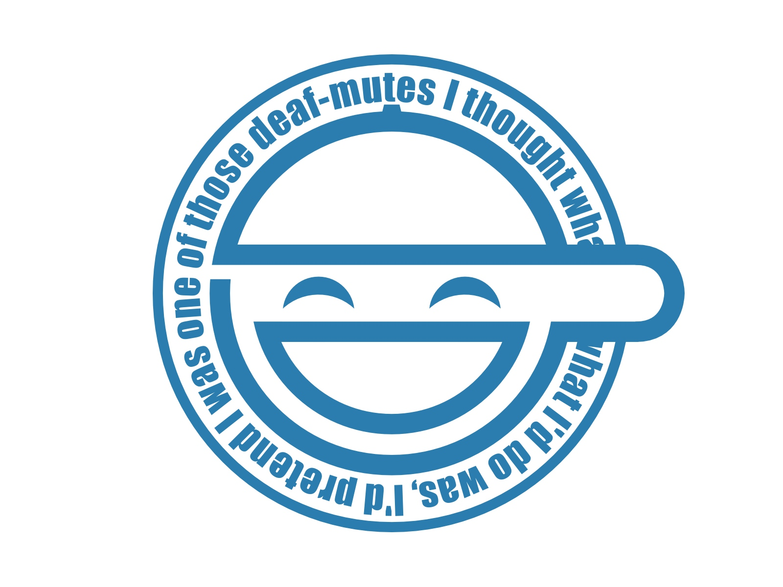 ghost_in_the_shell laughing_man logo monochrome white