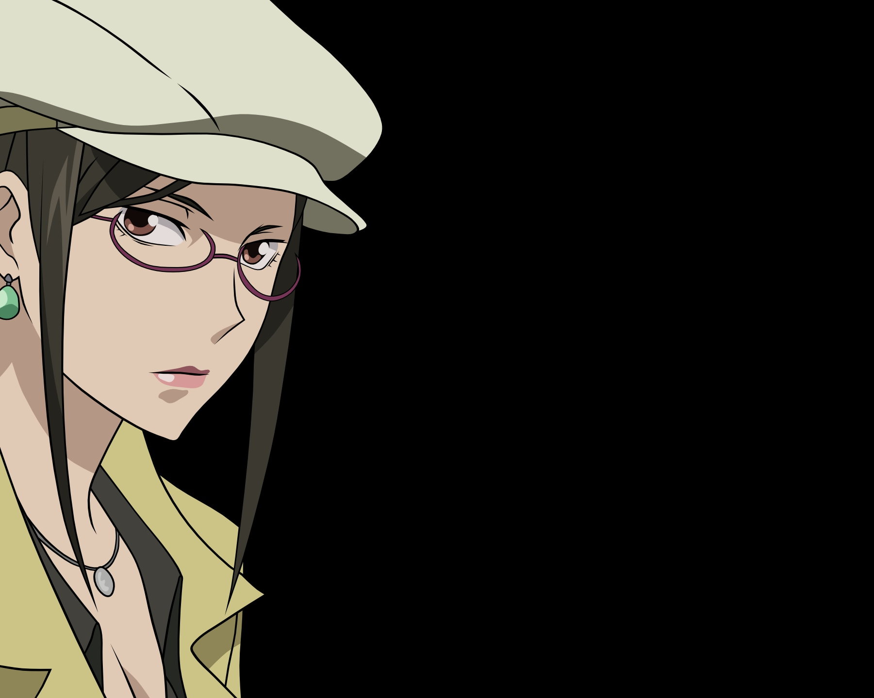 darker_than_black kirihara_misaki transparent vector