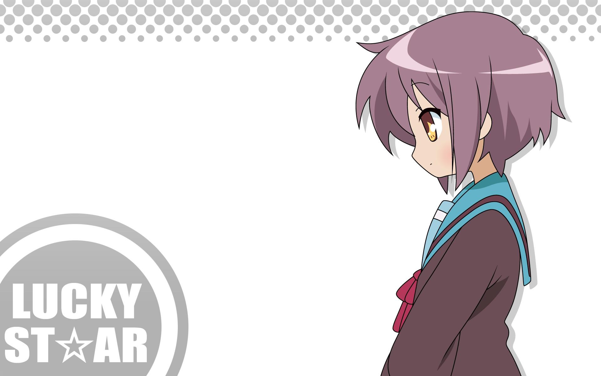 lucky_star nagato_yuki suzumiya_haruhi_no_yuutsu white