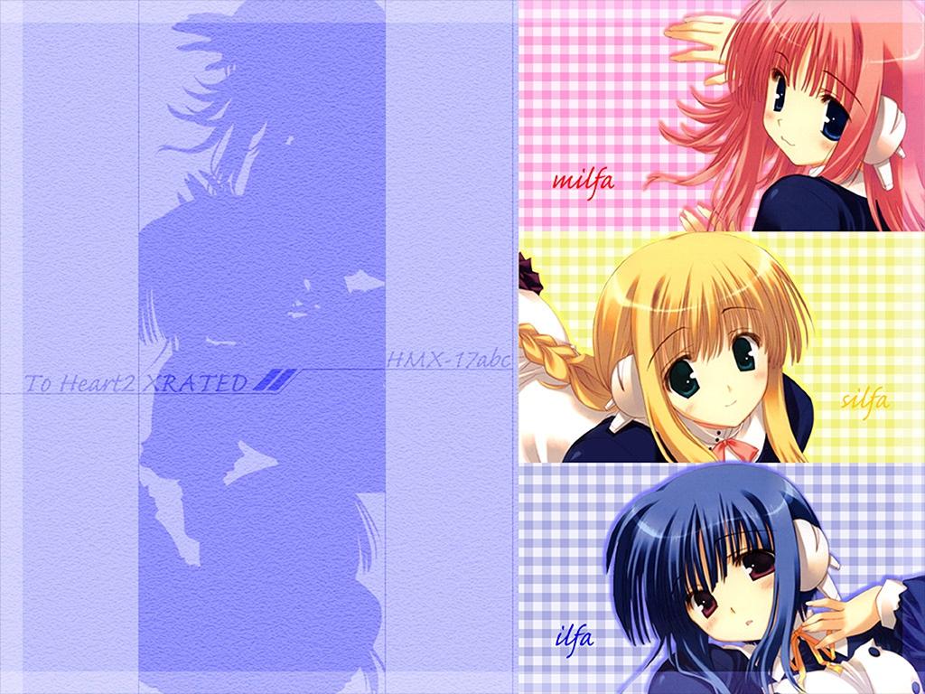 aquaplus ilfa kouno_harumi leaf mitsumi_misato silfa to_heart to_heart_2