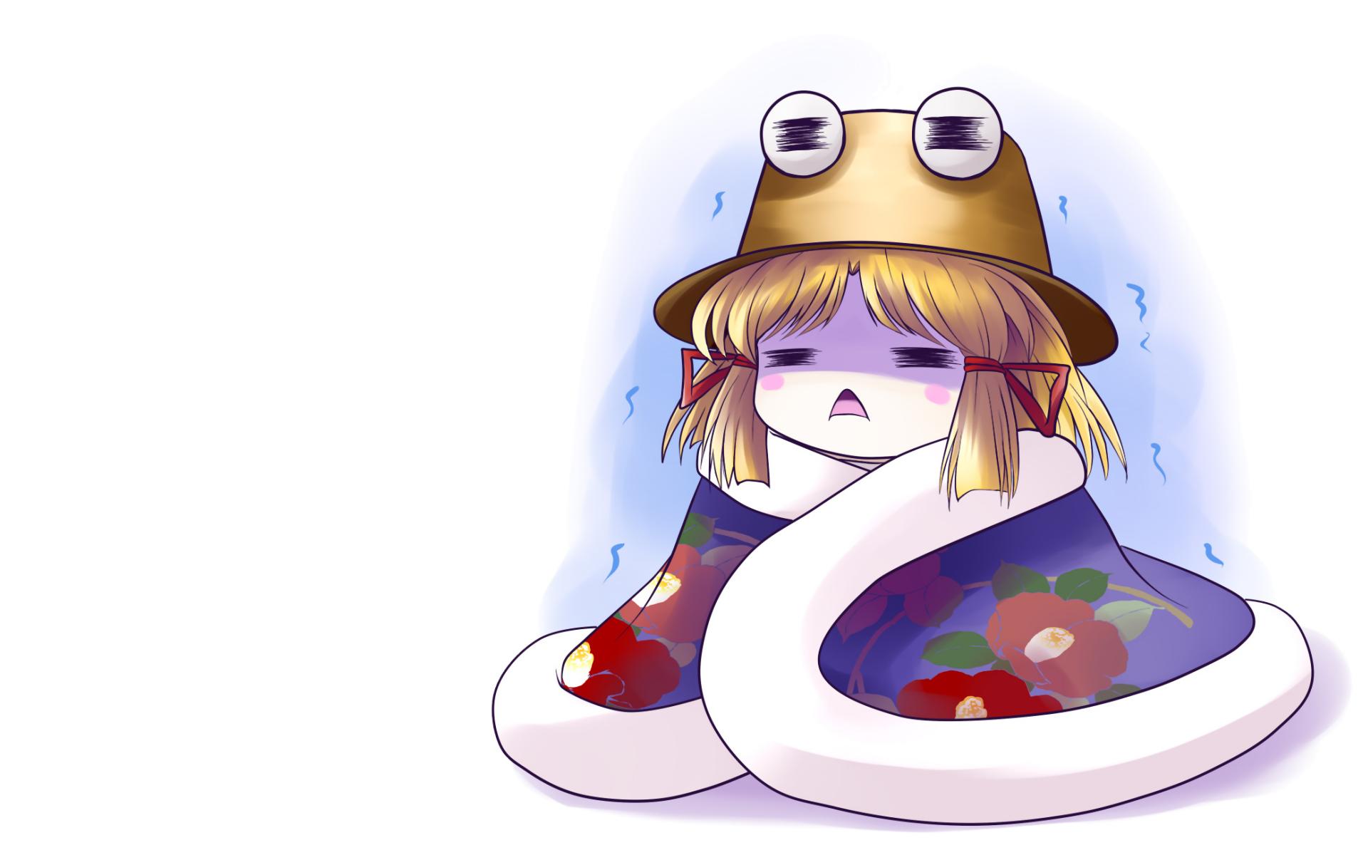 chibi moriya_suwako touhou white yume_shokunin