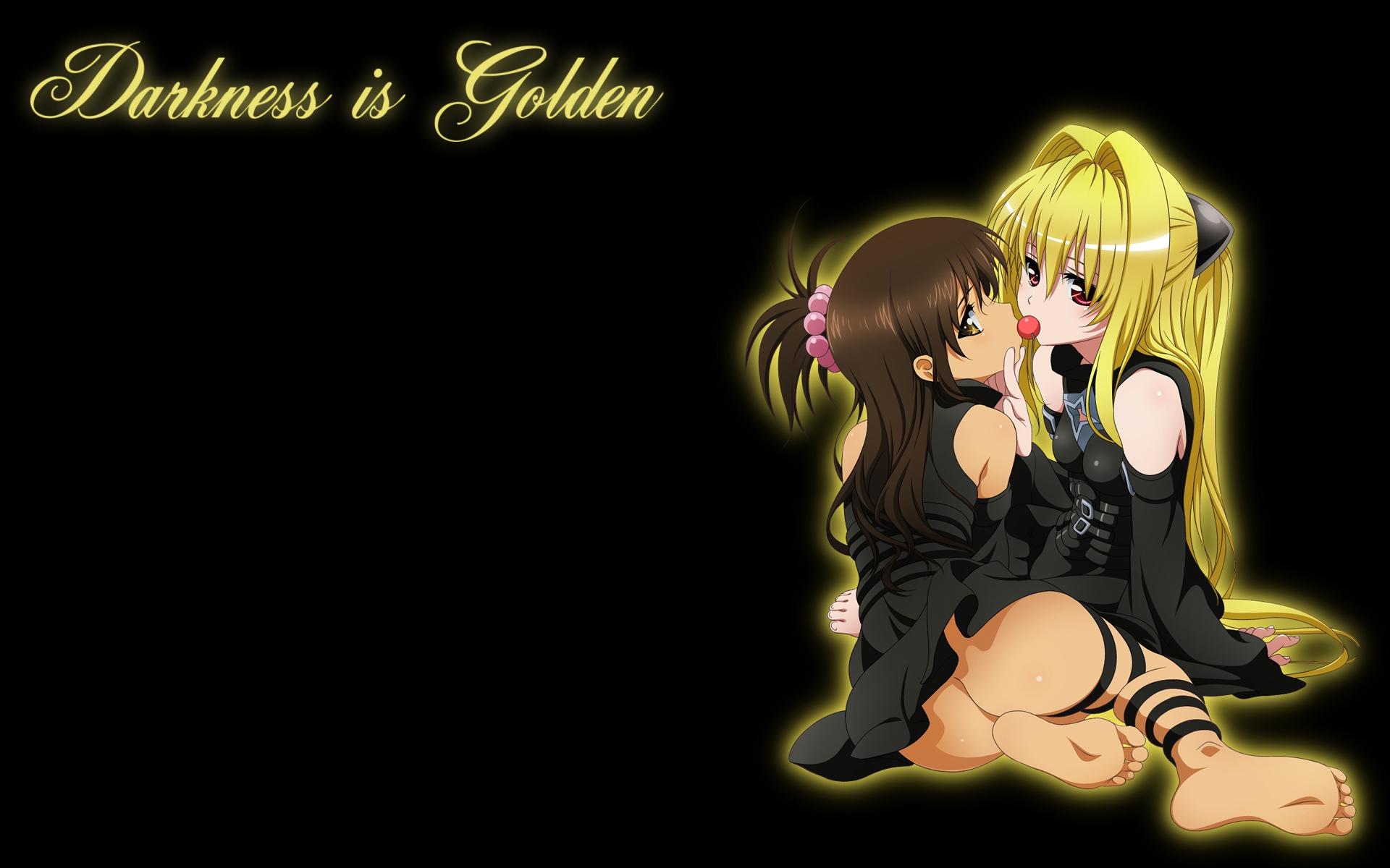 black golden_darkness loli nopan to_love_ru yuuki_mikan