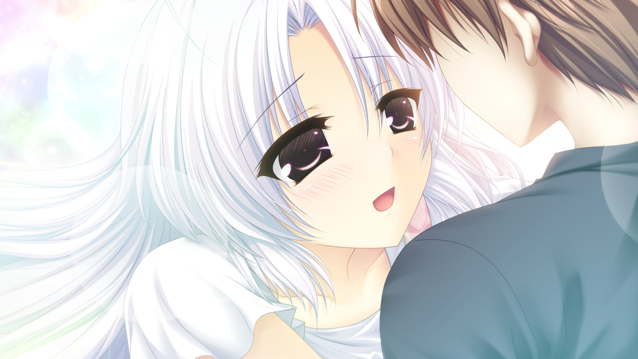 brown_hair close game_cg gray_hair long_hair male mashiro_summer short_hair yasaka_chihiru