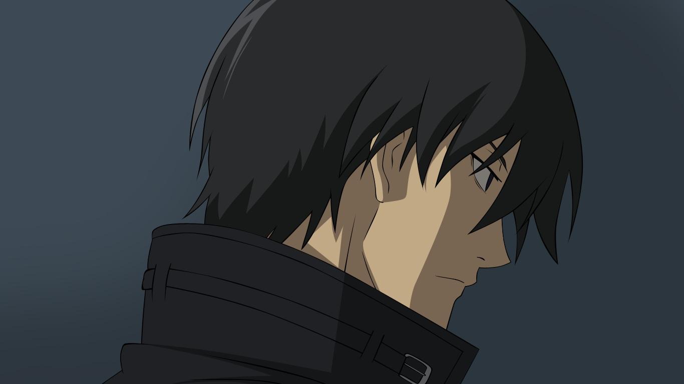 all_male black_eyes black_hair close darker_than_black hei male vector