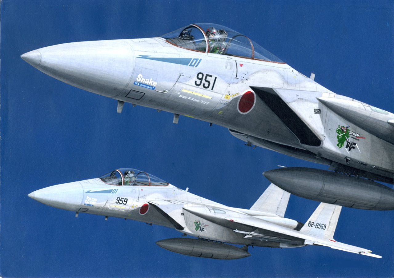 aircraft all_male combat_vehicle male mick_(m.ishizuka) military original sky waifu2x