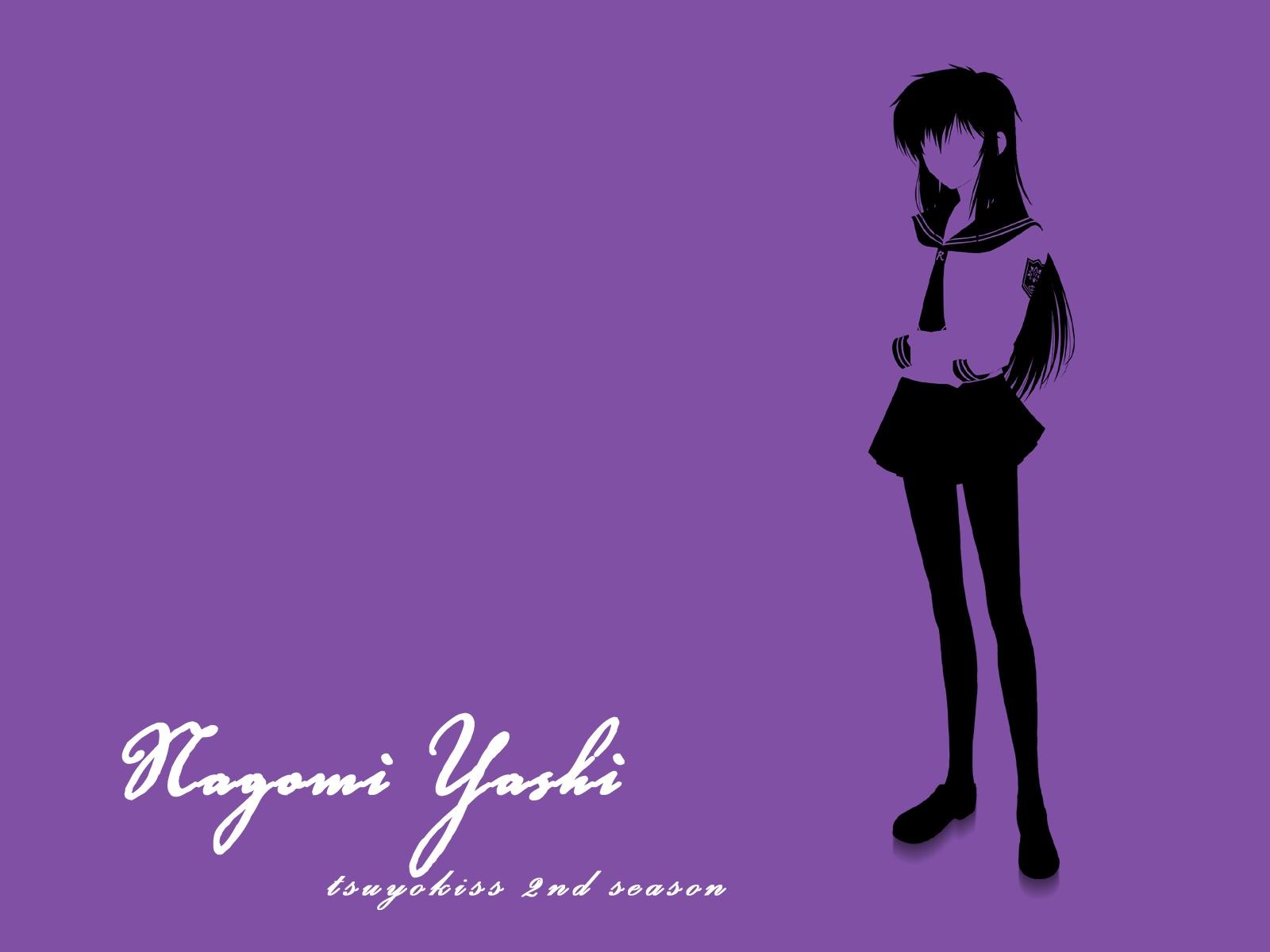 polychromatic purple tsuyokiss_cool_x_sweet yashi_nagomi