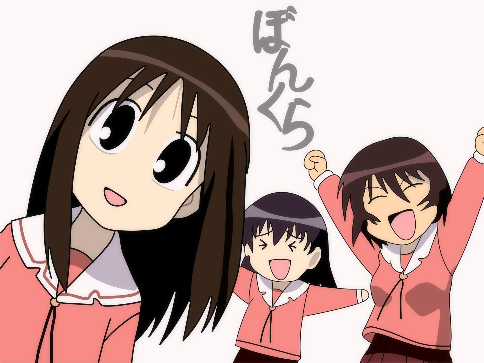 azumanga_daioh kagura kasuga_ayumu takino_tomo