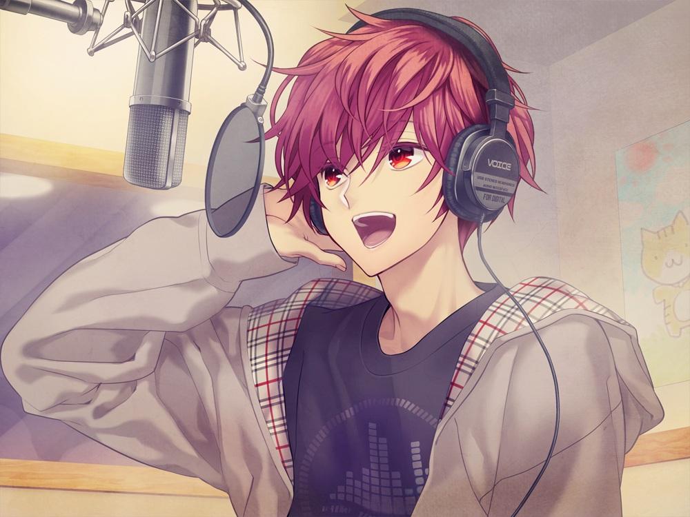 all male headphones hoodie male microphone minamibe0 ...