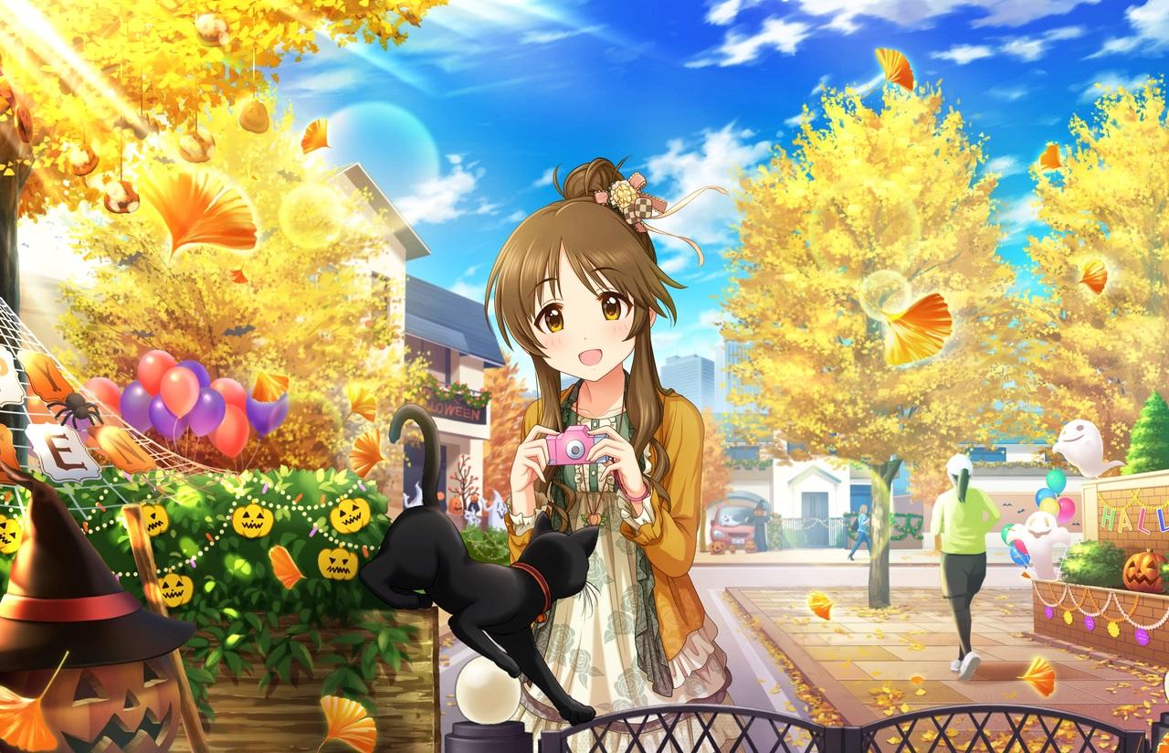 annin_doufu halloween idolmaster idolmaster_cinderella_girls idolmaster_cinderella_girls_starlight_stage takamori_aiko
