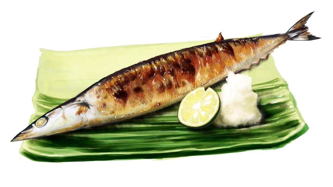 animal fish food fruit lammy (artist) nobody original white