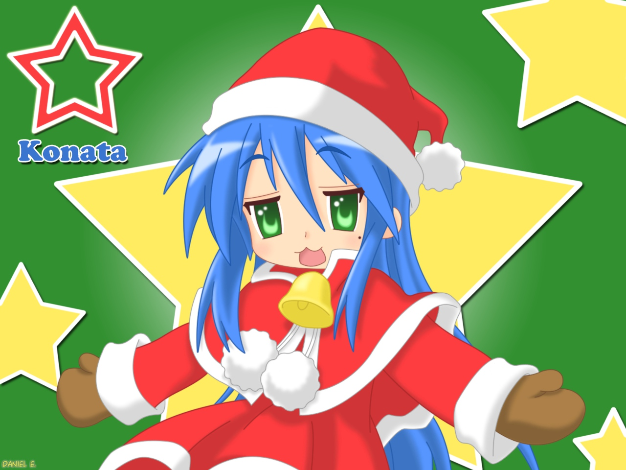 christmas izumi_konata lucky_star