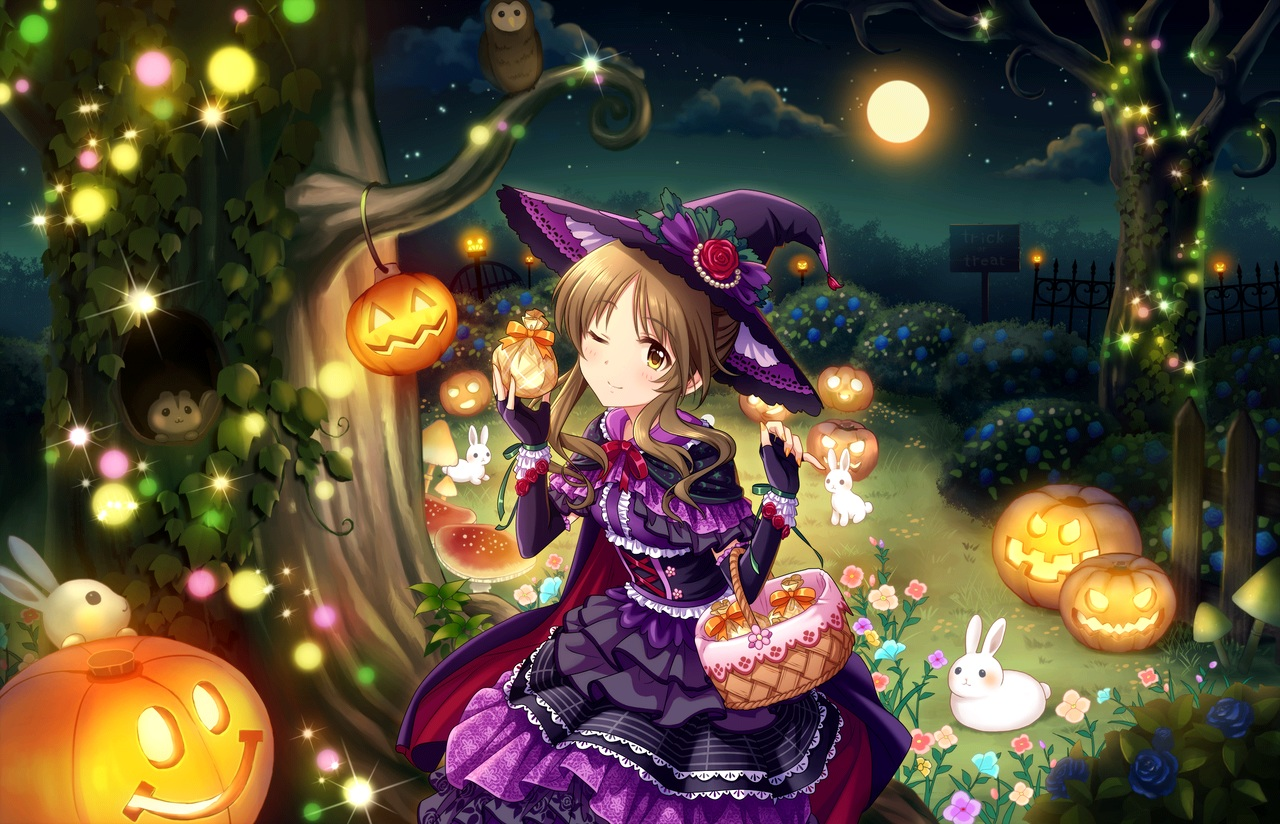 annin_doufu halloween idolmaster idolmaster_cinderella_girls idolmaster_cinderella_girls_starlight_stage lolita_fashion takamori_aiko