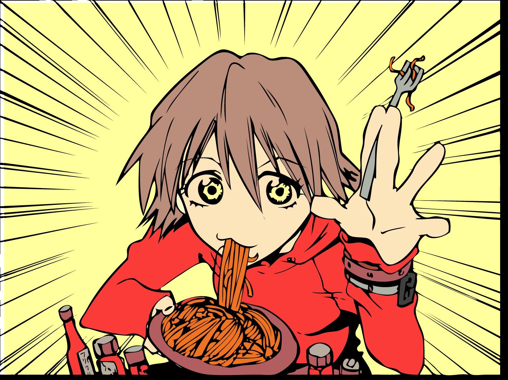Flcl food haruhara haruko anime wallpapers - Flcl haruko haruhara ...