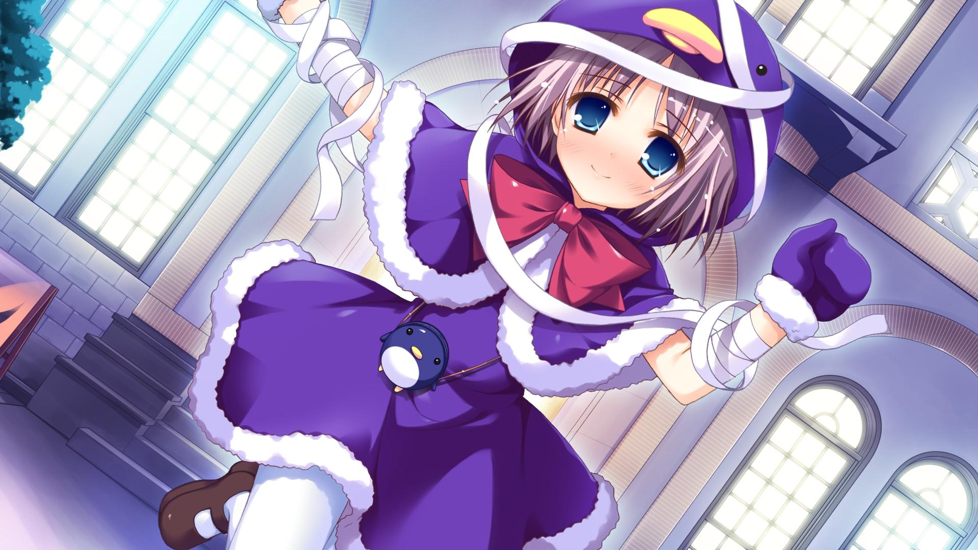 blue_eyes bow game_cg iro_ni_ide_ni_keri_waga_koi_wa kaede_yuzuna narumi_yuu pantyhose windmill_(company)