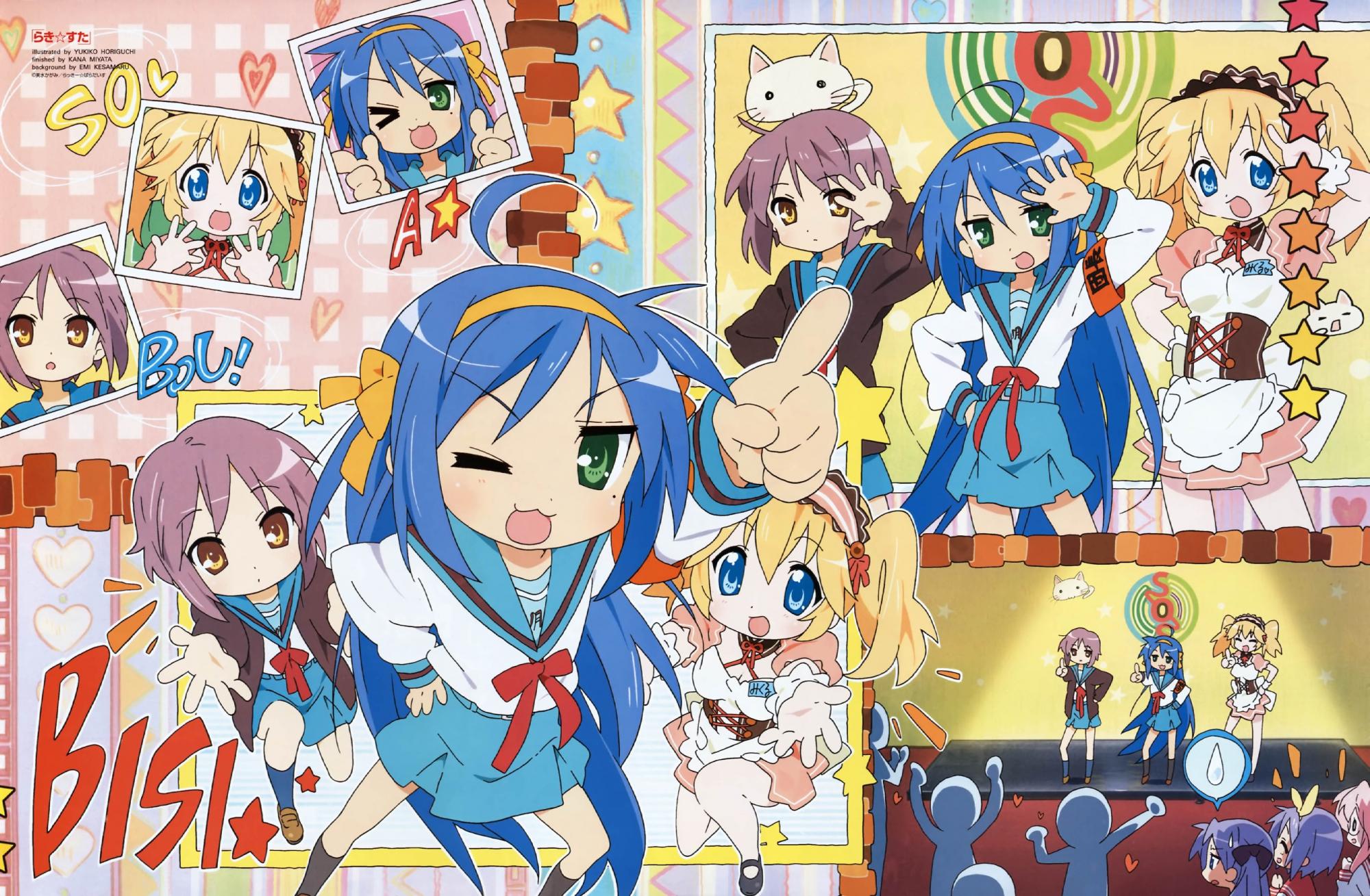cosplay crossover hiiragi_kagami hiiragi_tsukasa izumi_konata lucky_star nagato_yuki parody patricia_martin suzumiya_haruhi_no_yuutsu