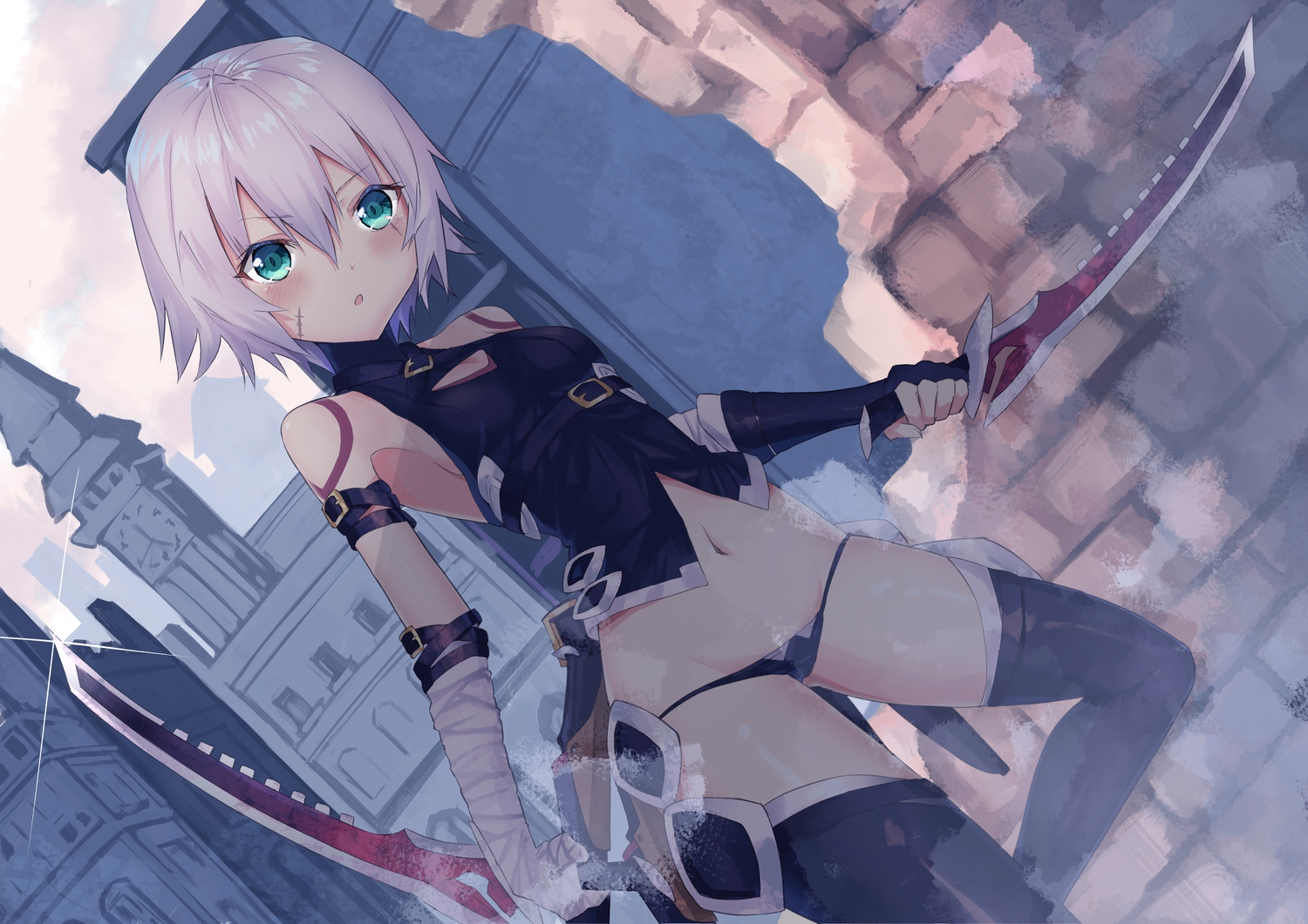 Aliasing Building Fate Apocrypha Fate Series Green Eyes Jack The