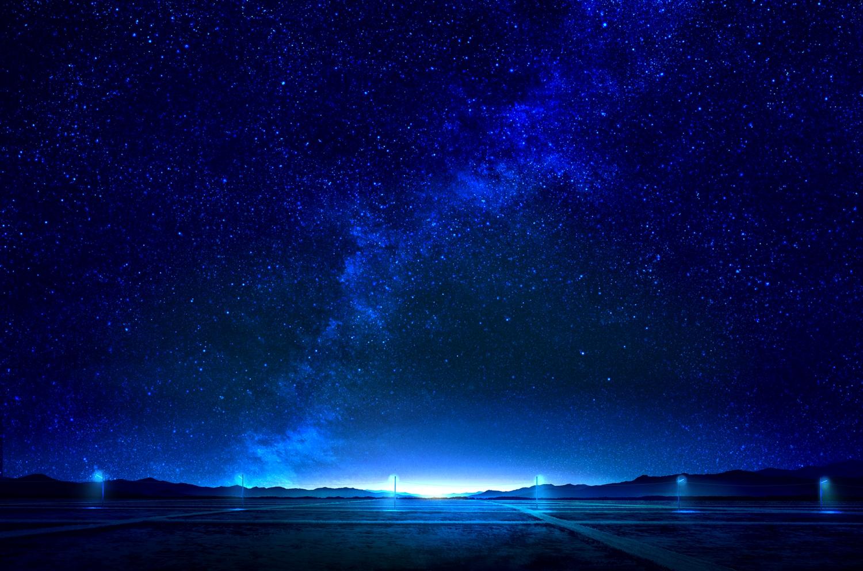 mks nobody original scenic sky stars
