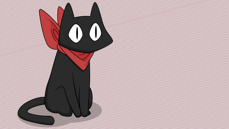 animal cat nichijou nobody sakamoto_(nichijou) vector