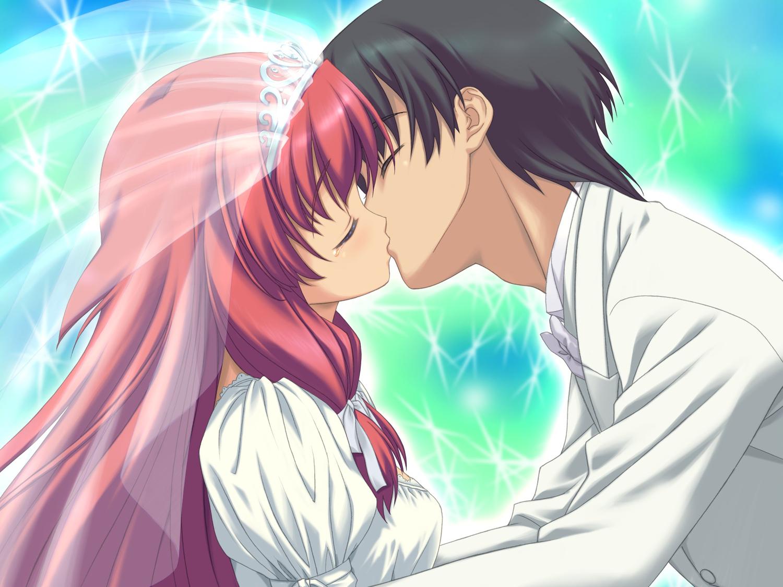 angel_wish chitose_mizuki favorite game_cg long_hair male red_hair wedding wedding_attire
