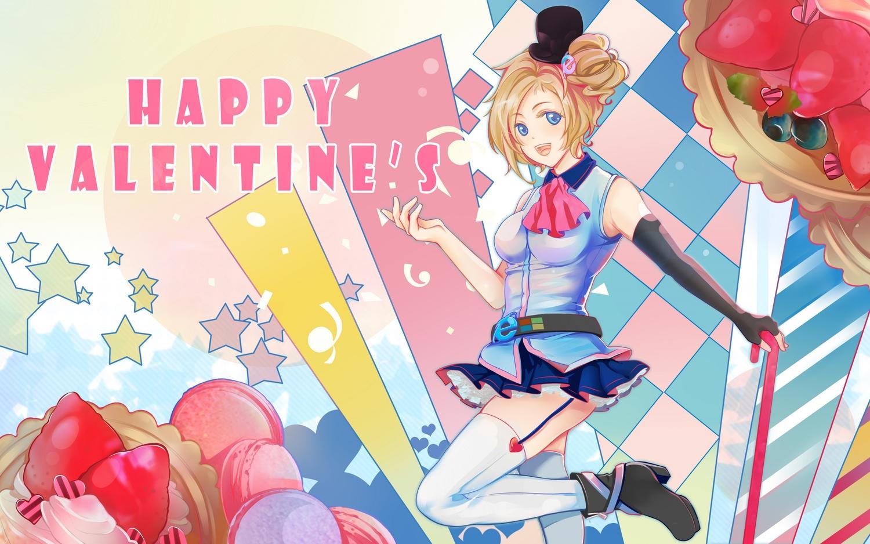 aizawa_inori anthropomorphism boots food fruit internet_explorer microsoft thighhighs valentine