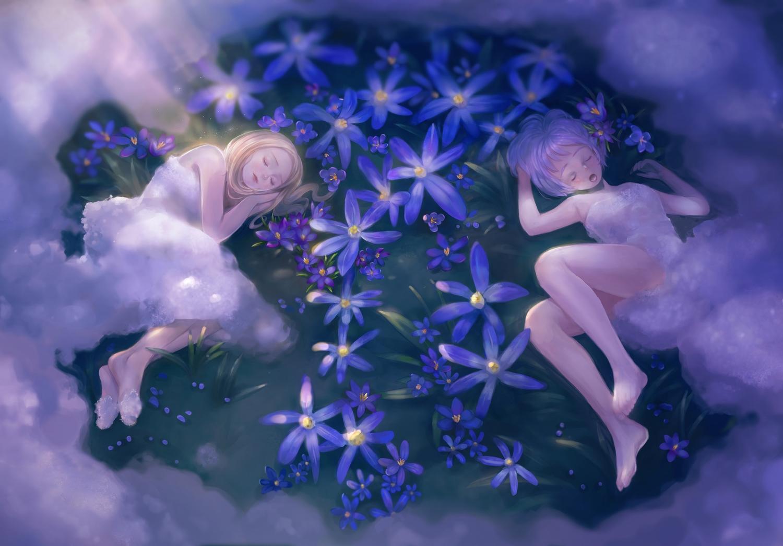 2girls litingting915 original sleeping